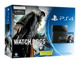 Sony PlayStation 4 500 GB Watch_Dogs konsolipaketti