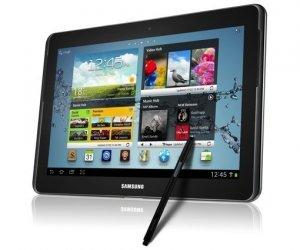 Samsung Galaxy Note 10.1 WiFi + 3G Android-puhelin/tablet, tummanharmaa