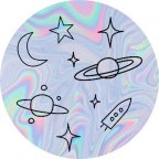PopSockets älypuhelimen pidike, Space Doodles