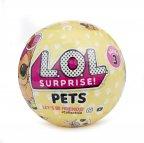 L.O.L. Surprise Pets PDQ -yllätyspallo, 1 kpl