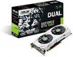 Asus GeForce GTX 1060 DUAL-GTX1060-O6G 6144 Mt -näytönohjain PCI-e-väylään