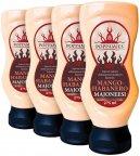 Poppamies Mango-Habanero -majoneesi, 4 x 275 ml
