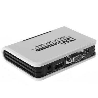 Giffen HDV-331 HDMI - VGA muunnin – Adapterit – HDMI – Videosignaalinkäsittely – Oheislaitteet ...