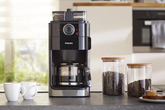 philips hd7766 00 grind brew kahvinkeitin kahvinkeittimet kahvi pienkoneet. Black Bedroom Furniture Sets. Home Design Ideas