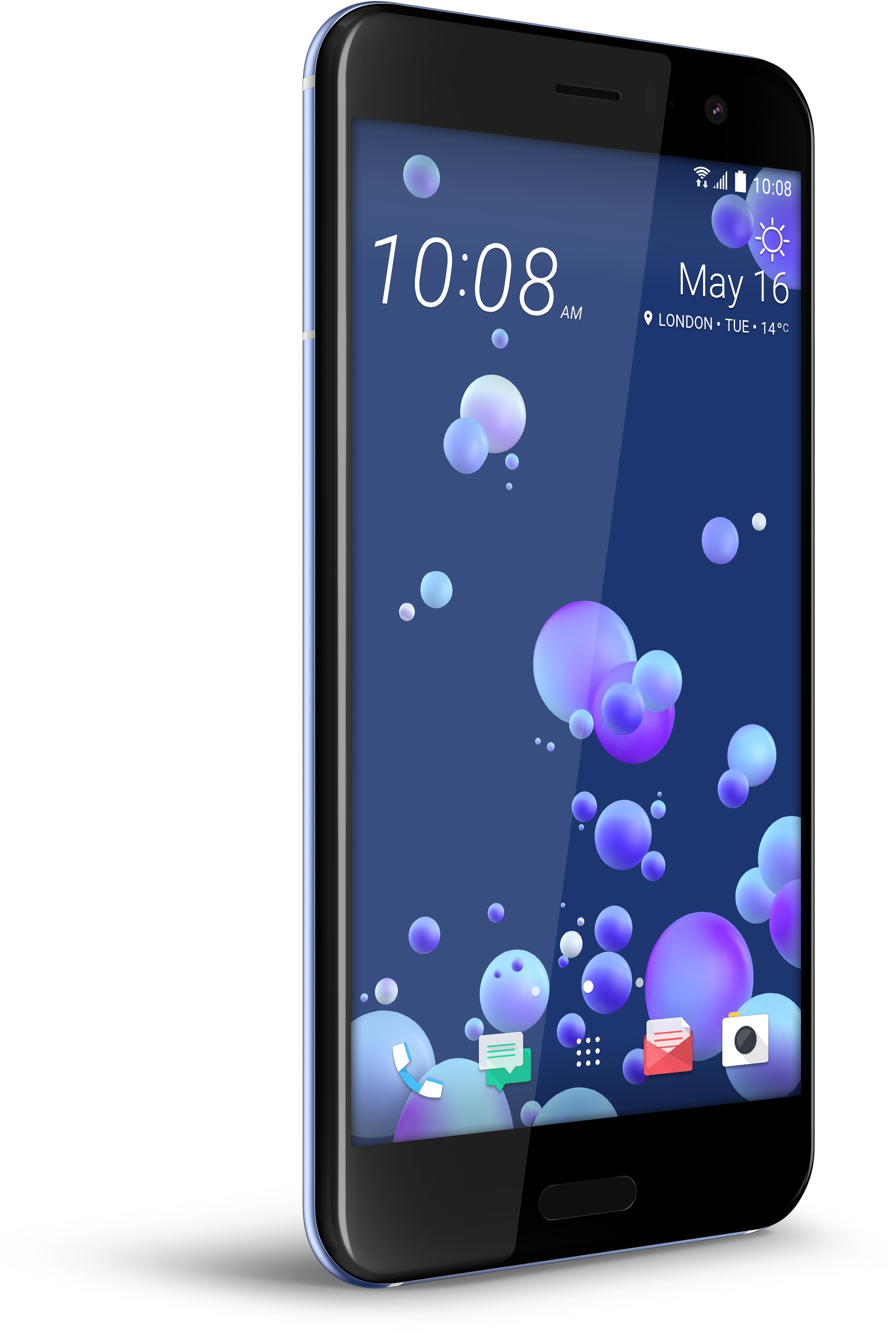 HTC U11 ‐Android-puhelin 64 Gt, hopea – Android – Puhelimet – Puhelimet – Verkkokauppa.com