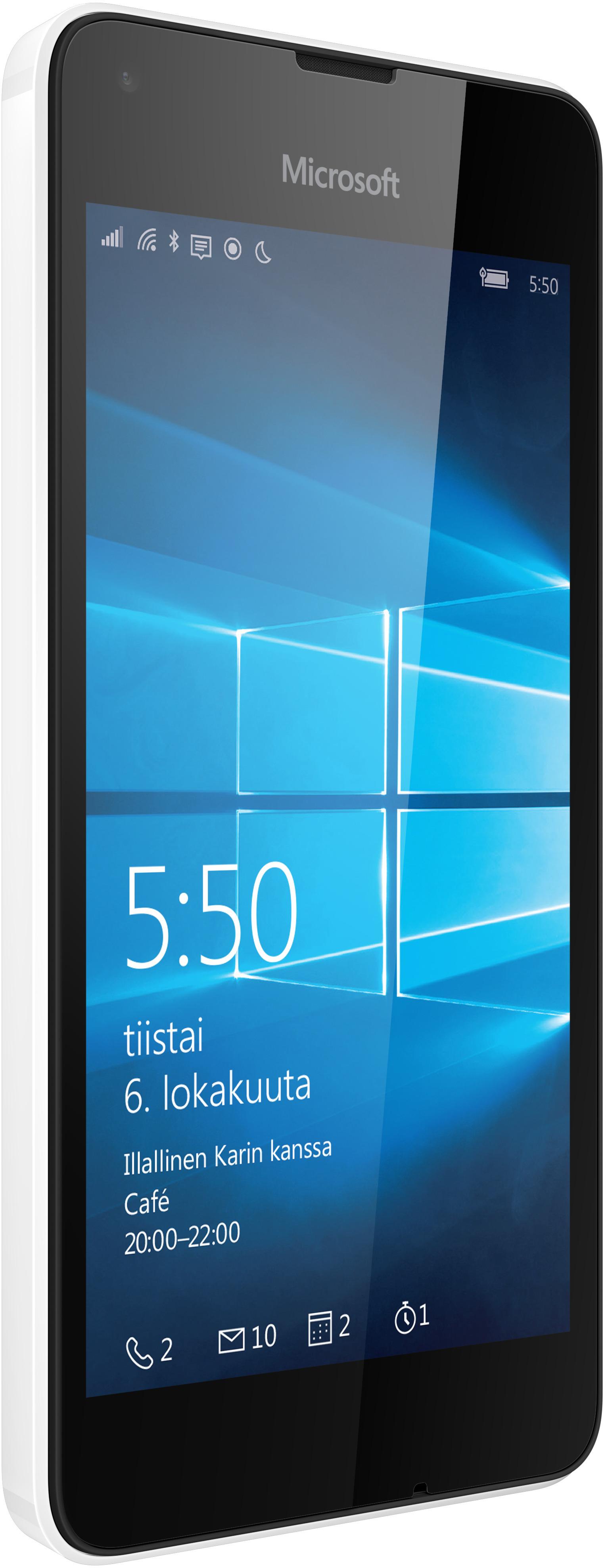 Microsoft Lumia 550 Windows ‐puhelin, valkoinen – Windows phone – Puhelimet – Puhelimet ...