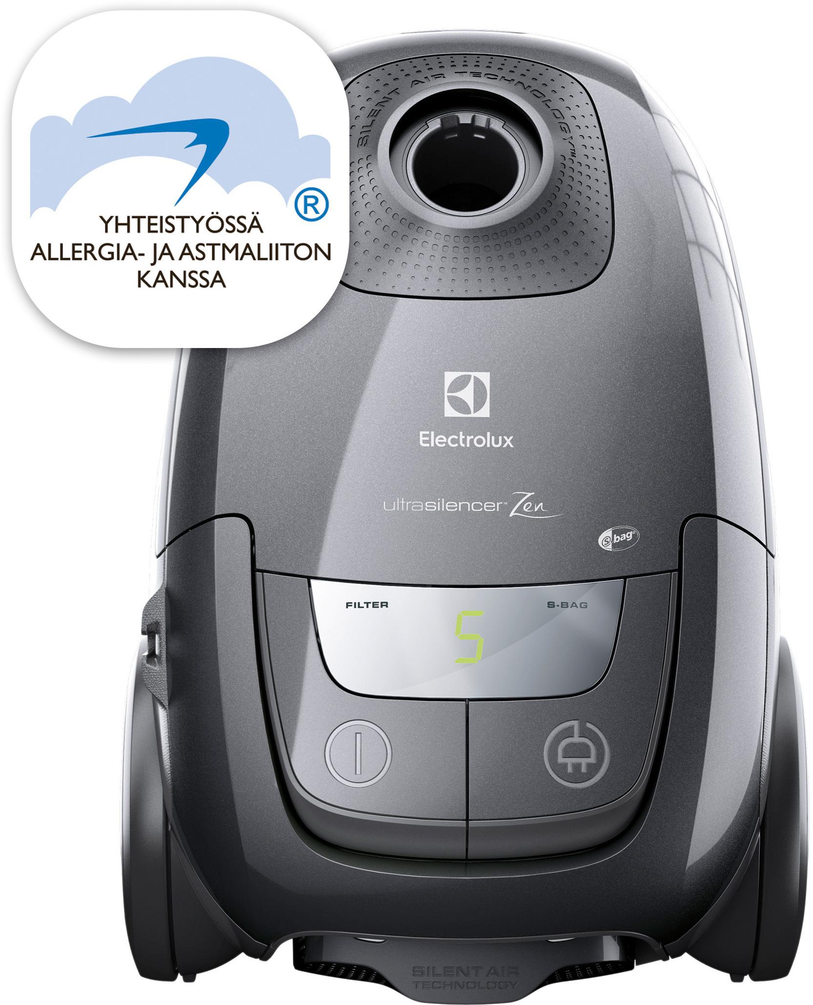 Electrolux UltraSilencer ZEN Deluxe ‐pölynimuri – Pölypussilliset – Pölynimurit – Pienkoneet ...