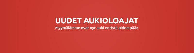 Biltema Oulu Aukioloajat
